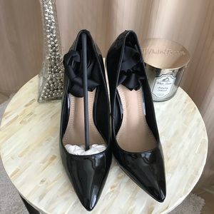 Brand new black misguided heels